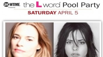 The Dinah L Word Pool Party